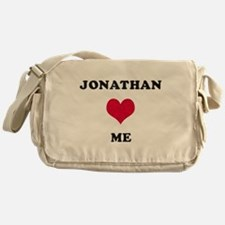 Jonathan Loves Me Messenger Bag