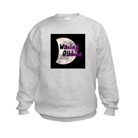Waxing Gibbous Kids Sweatshirt