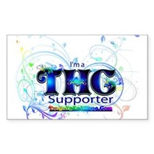 THC Supporter Decal