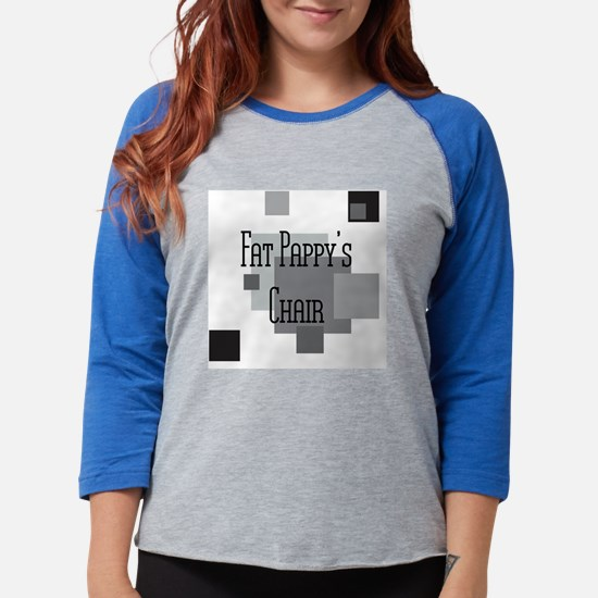 Fat Pappys Chair Womens Baseball Tee