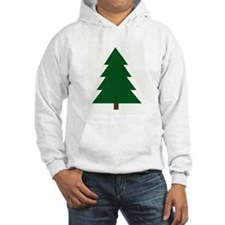 Woodblock Christmas Tree Hoodie