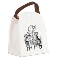 Cute Wombat Canvas Lunch Bag