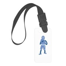 Boxing Robot Luggage Tag