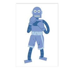 Boxing Robot Postcards (Package of 8)