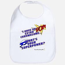 Extra Super Power Bib