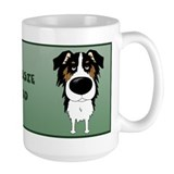 Australian shepherd Large Mugs (15 oz)