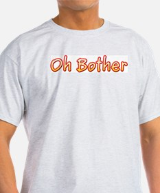 Oh Bother Ash Grey T-Shirt