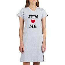 Jen Loves Me Women's Nightshirt