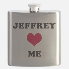 Jeffrey Loves Me Flask