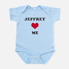 Jeffrey Loves Me Infant Bodysuit