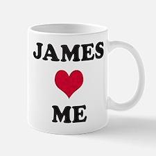 James Loves Me Mug