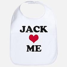 Jack Loves Me Bib