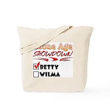 Stone Age Showdown Tote Bag