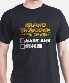 Island Showdown Black T-Shirt