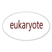 Eukaryote Oval Decal