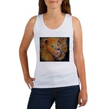 Lion! Wildlife art! Women's Tank Top