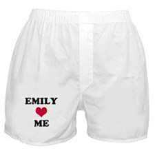 Emily Loves Me Boxer Shorts