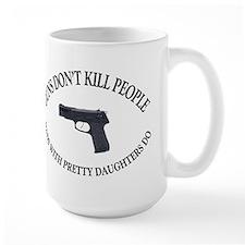 SHIRT-Guns Dont Kill People Mugs