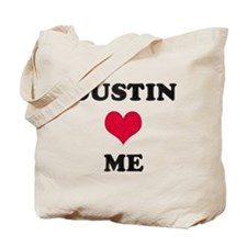 Dustin Loves Me Tote Bag
