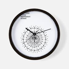 Funny Montessori Wall Clock