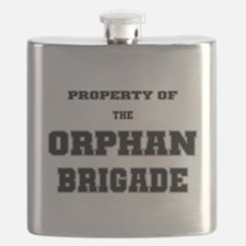 Property of the Orphan Brigade Flask
