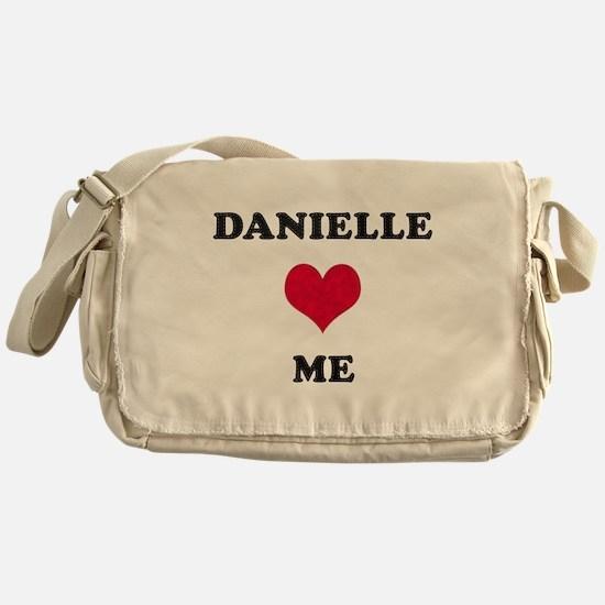 Danielle Loves Me Messenger Bag