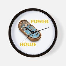 Mitochondria Power House Wall Clock