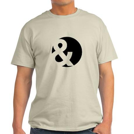 Ampersand Circle Black Light T-Shirt