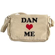 Dan Loves Me Messenger Bag