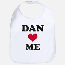 Dan Loves Me Bib