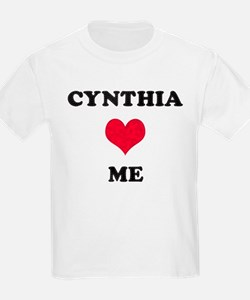 Cynthia Loves Me T-Shirt