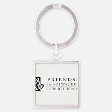 friends logo no tag.jpg Square Keychain