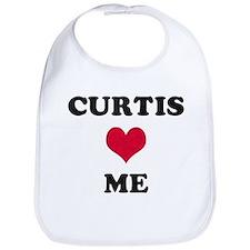 Curtis Loves Me Bib