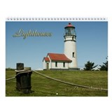 Oregon lighthouse Wall Calendars