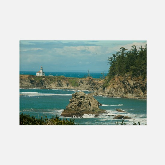 Cape Arago Lighthouse Rectangle Magnet