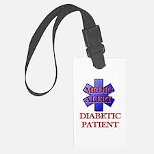 Medic Alert Diabetic Patient Luggage Tag
