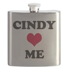 Cindy Loves Me Flask