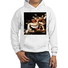 Entombment of Christ by Carav Hoodie