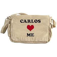 Carlos Loves Me Messenger Bag