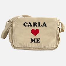 Carla Loves Me Messenger Bag