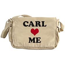 Carl Loves Me Messenger Bag