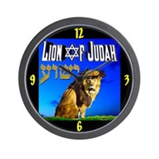 Lion of Judah 10 Wall Clock