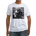 St. Christopher Durer 1471-15 Fitted T-Shirt