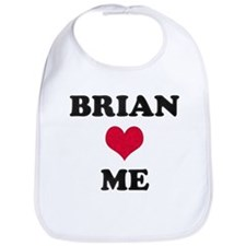 Brian Loves Me Bib