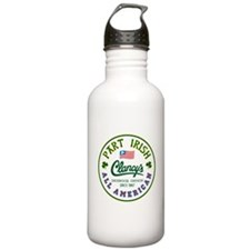 Clancy's part Irish Water Bottle