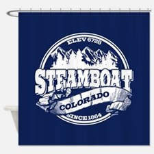 Steamboat Old Circle Shower Curtain