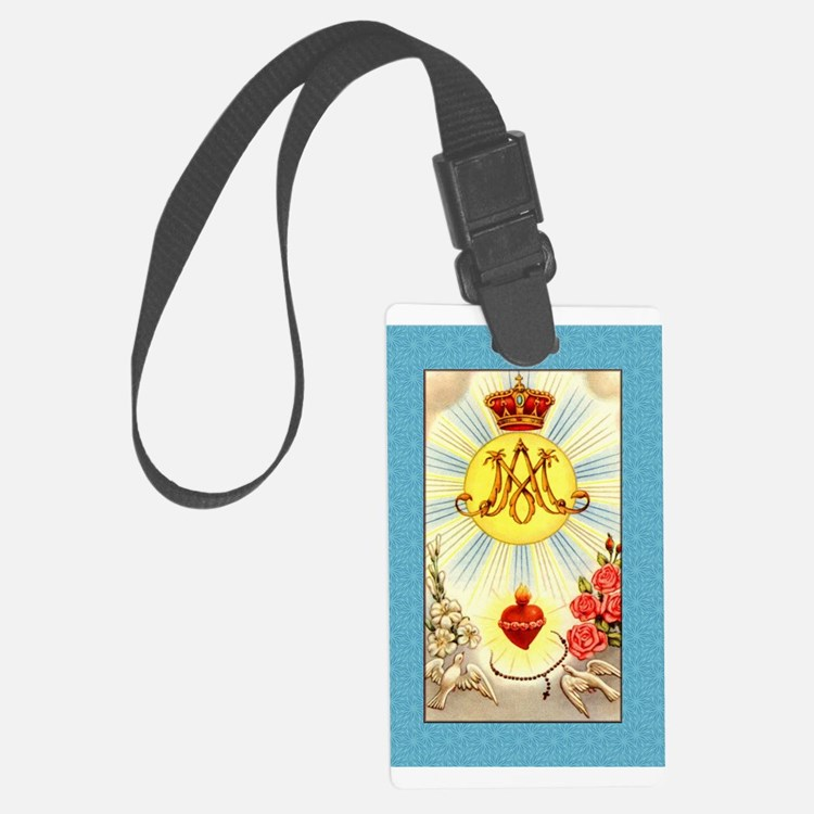 Queen of Heaven Luggage Tag