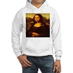 The Mona Lisa da Vinci 1503 Hooded Sweatshirt