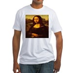 The Mona Lisa da Vinci 1503 Fitted T-Shirt