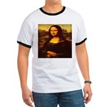 The Mona Lisa da Vinci 1503 Ringer T